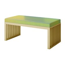 Ahumada Iridescent Upholstered Bedroom Bench by Everly Quinn