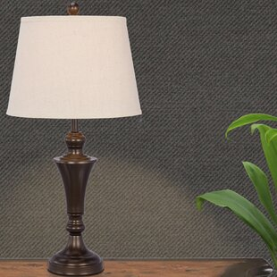 Great Price Argenta Metal 26 Table Lamp By Three Posts