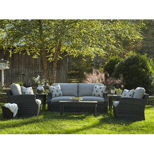 Cascade 6 Piece Sunbrella Sofa Set with Cushions by Klaussner Furniture