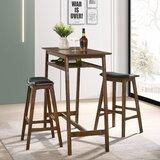 Labbe 3 - Piece Bar Height Dining Set by Corrigan Studio®