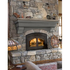 hadley cottage fireplace shelf mantel
