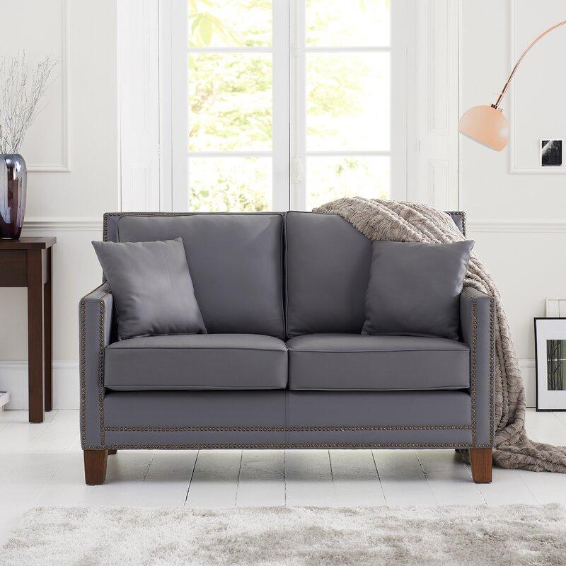 home etc 2 sitzer sofa arundel aus leder. Black Bedroom Furniture Sets. Home Design Ideas