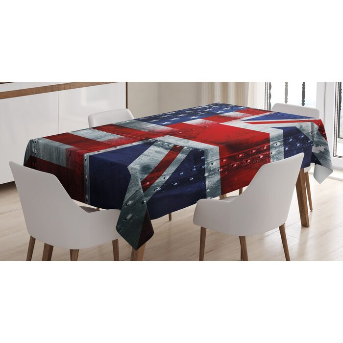 Union Jack Dining Room Kitchen Tablecloth