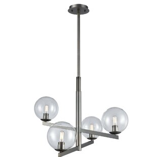Stoudt 4-Light Globe Chandelier by Orren Ellis