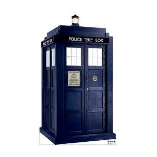 Tardis - Doctor Who Cardboard Stand-Up By Advanced Graphics