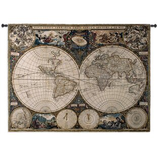 Old World Map Mural.Old World Map Mural Wayfair