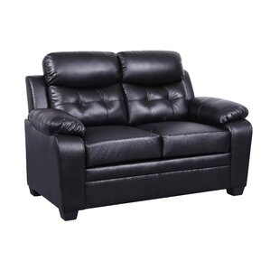 Kaitlin Contemporary Loveseat by Winston Porter