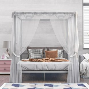 AoifeMarie Queen Canopy Bed