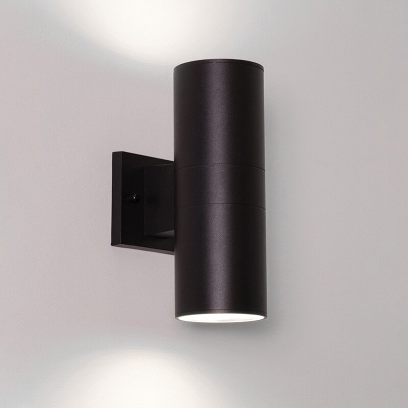 Ebern Designs Quiroga Led 2 Light Outdoor Armed Sconce Wayfair