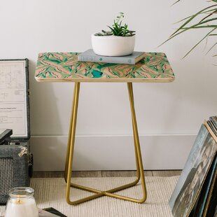 Holli Zollinger Jungle Palm Tropica End Table