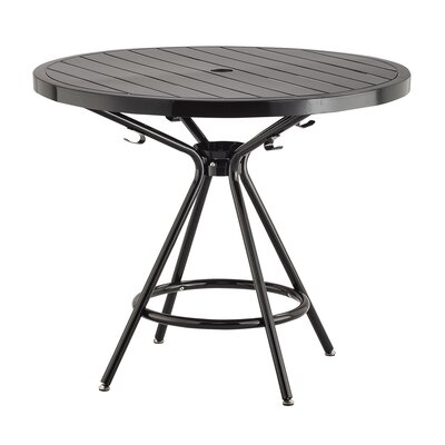 Spilsby Steel Dining Table by Ebern Designs Best