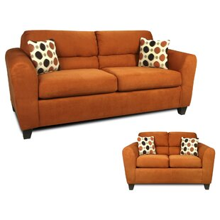 Winston Porter Nashville 2 Piece Living Room Set