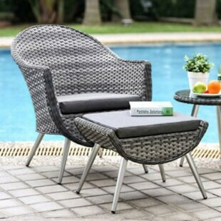 Delao 3 Piece Bistro Set with Cushions by..