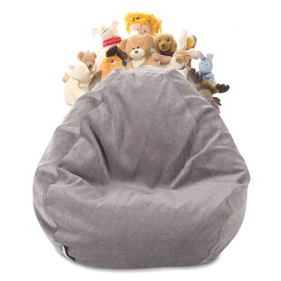 Edwards Stuffed Animal Toy Storage Bean Bag Chair