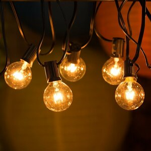Ambience 25-Light 25 ft. Globe String Lights
