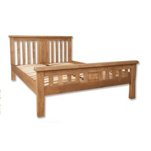 Zeus Solid Wood Bed von ClassicLiving