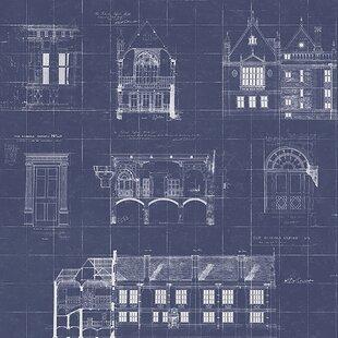 Blueprint wallpaper wayfair save malvernweather Choice Image