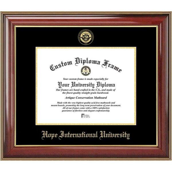 Diploma Frame Deals Hope International University Diploma Picture Frame Wayfair