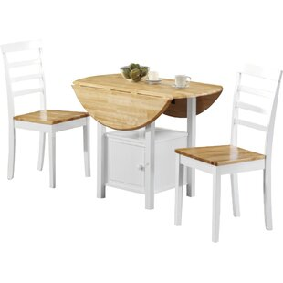 Moe Extendable Dining Set With 2 Chairs By Hokku Designs