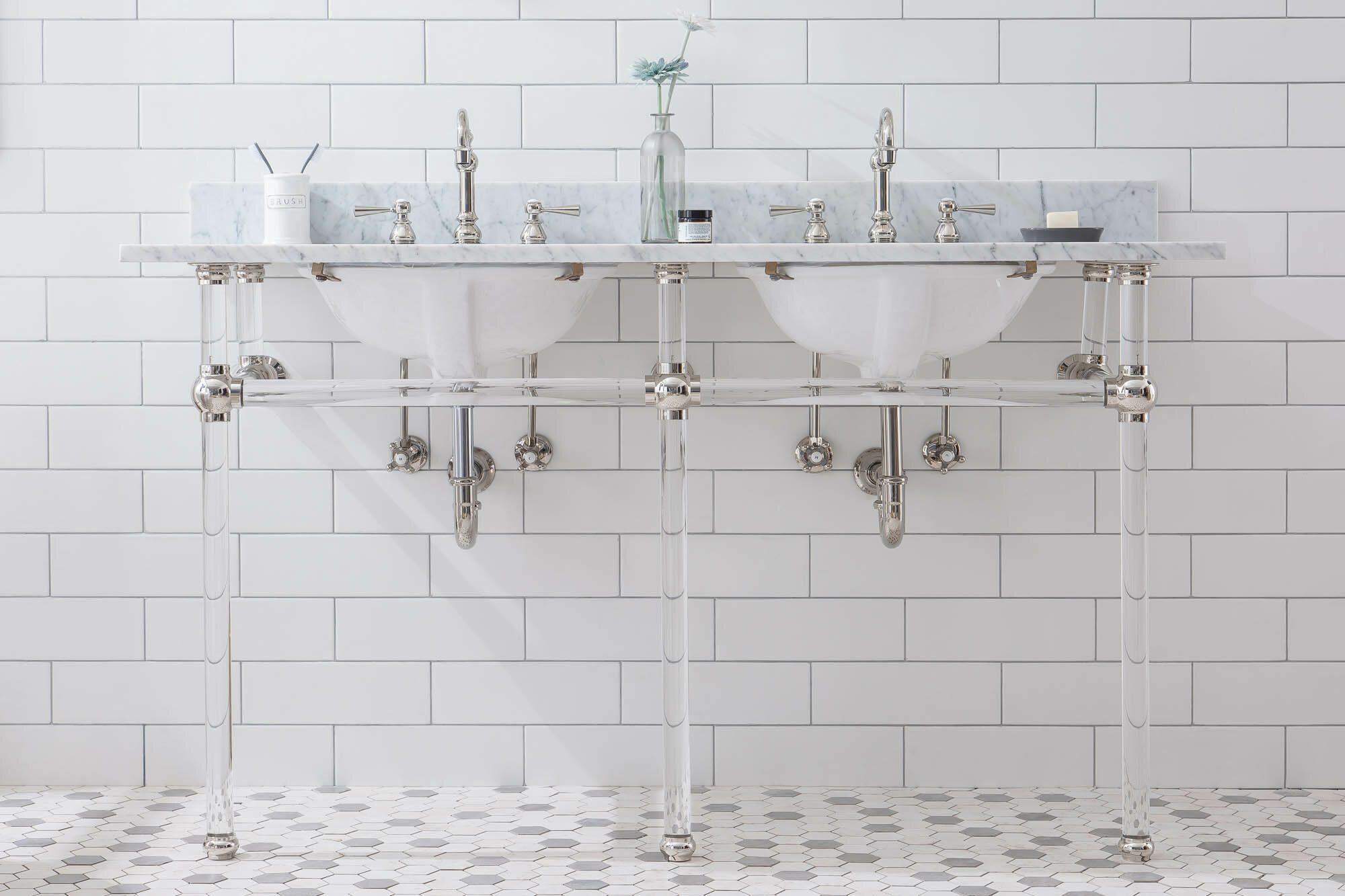 Water Creation 33 Tall Stone Oval Console Bathroom Sink With Faucet And Overflow Perigold