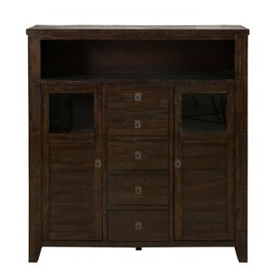 Joshua Spacious Wooden 2 Door Accent Cabinet by Longshore Tides