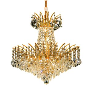 Phyllida 8-Light Chandelier by Everly Quinn