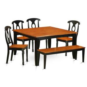 Parfait 6 Piece Dining Set by East West F..