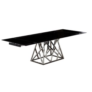 Twist Extendable Dining Table Bellini Modern Living