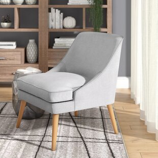Langley Street Dunturky Upholstered Accent Slipper Chair