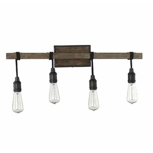 Gracie Oaks Wyckhoff 4-Light Vanity Light