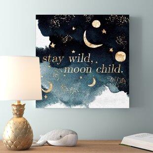 'Stay Wild' Canvas Art By HoneyBee Nursery