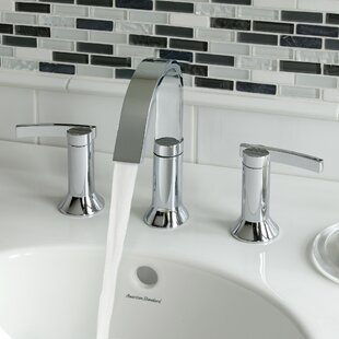 American Standard Berwick High Arc Widespread Bathroom Faucet with Speed Connect Drain