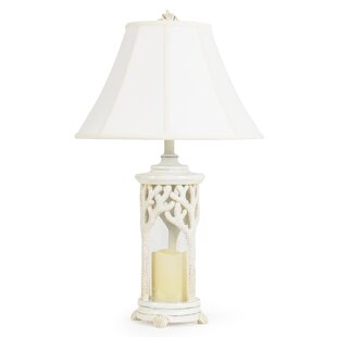 Coral Over Glass 29.75 Table Lamp