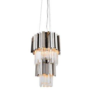 Everly Quinn Kushner 4-Light Crystal Pendant