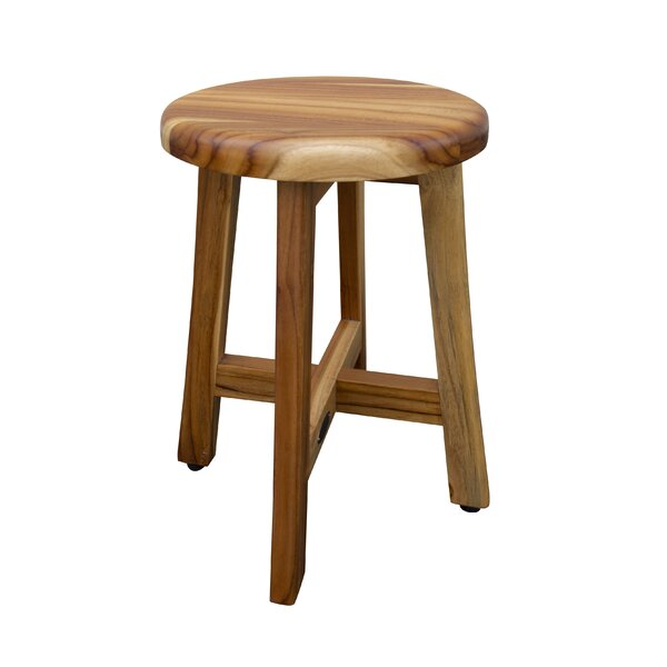 Outstanding Small Teak Shower Stool Wayfair Gmtry Best Dining Table And Chair Ideas Images Gmtryco