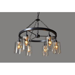 Williston Forge 6-Light Shaded Chandelier