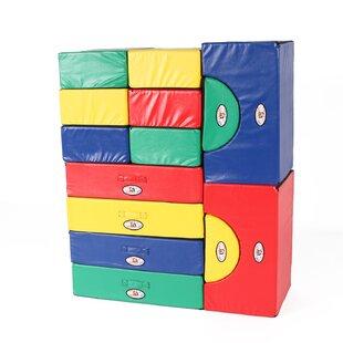 14 Piece Block Party Set By Foamnasium