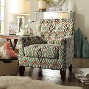 Briony Tufted Armchair by Latitude Run