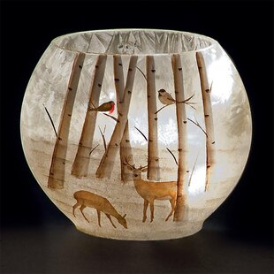 Reindeer Lit Oval Glass Lighting Accessory By The Seasonal Aisle