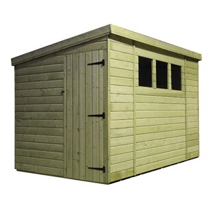8 Ft. W X 10 Ft. D Tongue And Groove Pent Wooden Shed By WFX Utility