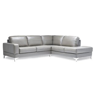 Molloy Leather Sectional