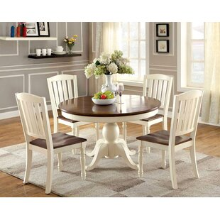 Asuka Cottage Oval Solid Wood Dining Table by August Grove