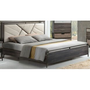 Francisca Upholstered Panel Bed by Brayden Studio Today Only Sale