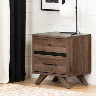 Flam 2 Drawer Nightstand by South Shore