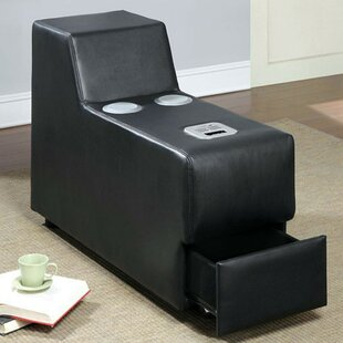 Coizer Contemporary Speaker Storage Ottoman by Latitude Run Coupon