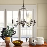 Hatfield 8-Light Candle Style Chandelier by Birch Lane™ Heritage