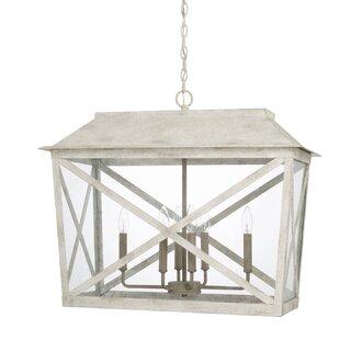Isabelle 6-Light Lantern Pendant by One Allium Way