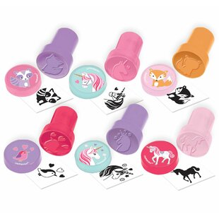 Magical Unicorn Stamper Plastic Disposable Party Favor (Set of 36)