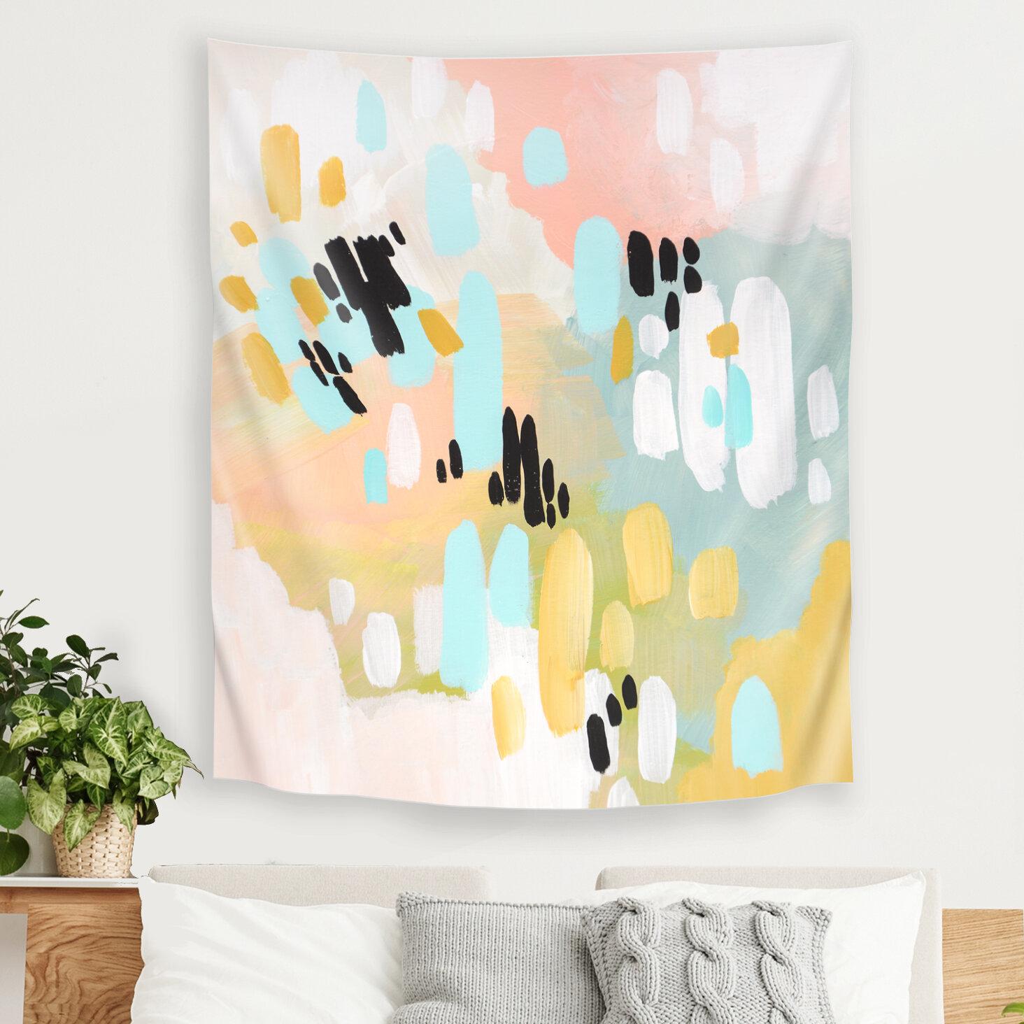 East Urban Home Deep In My Heart by Annie Bailey Tapestry | Wayfair