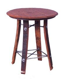 Rudy Barrel Top End Table